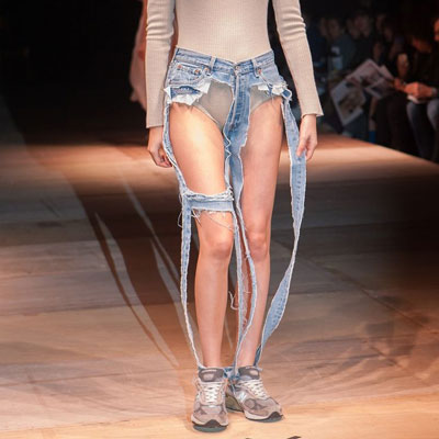 fashion thong jeans