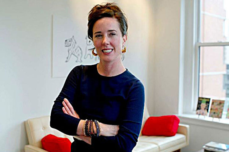kate spade pasted away at 55