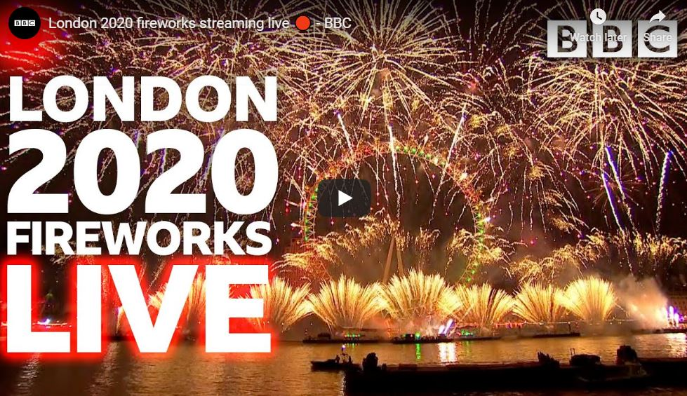 Live Streaming From London 2020 Countdown