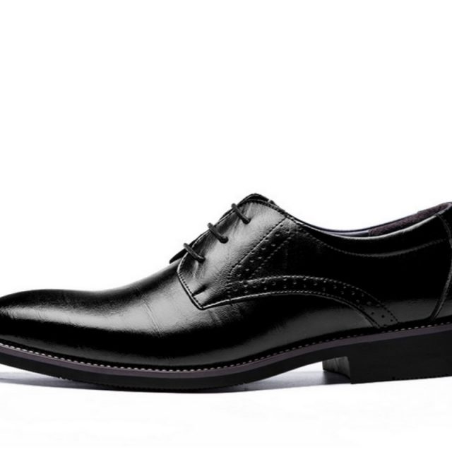 Pointed Toe Men Shoes